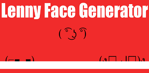 Lenny Face Generator 2021