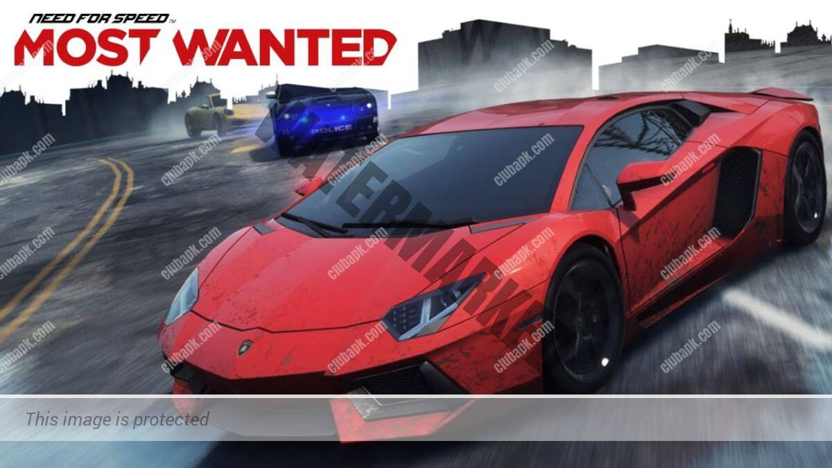 Need For Speed Most Wanted MOD APK+OBB For Android