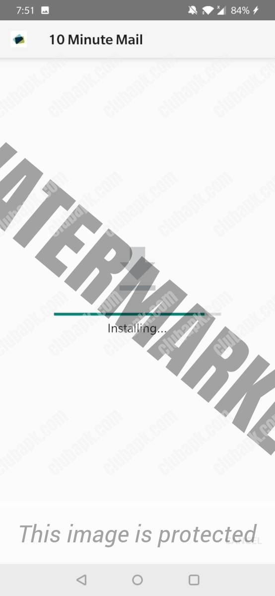 10 Minute Email installing